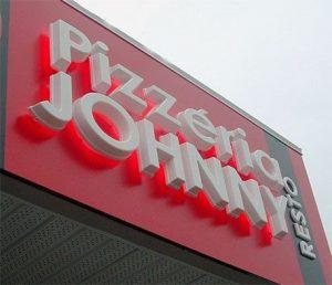 custom acrylic backlit storefront sign